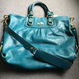 Coach Madison Audrey leather shoulder bag